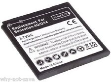 High Capacity EXTENDED battery for HTC EVO 3D / Sensation pyramid 4g PG58100 new