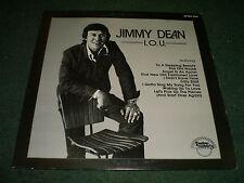 I.O.U. Jimmy Dean~1973 Country Folk~Casino GRT 8014~VG++ Vinyl~FAST SHIPPING!!!