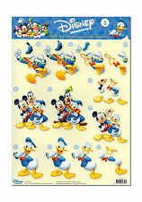 3D Motivbogen Etappenbogen Bastelbogen Grusskarte Disneys Donald Goofy  (135)