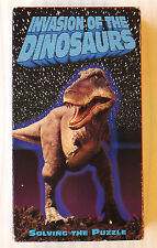 Invasion of the Dinosaurs: Solving The Puzzle ~ RARE Rhino Video VHS Movie Tape
