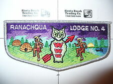 OA Ranachqua Lodge 4,S-12,1990s Vigil,VIG Flap,Owl,SMY,Greater New York,Bronx,NY