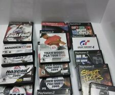 PS2 games sports,sold individually but i will make a deal for all of them