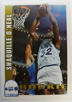 1993 93 Skybox NBA Hoops Shaquille O'Neal #442, Rookie RC Shaq Orlando Magic