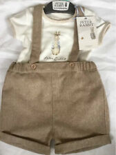 Mothercare Peter Rabbit Baby Boys 2 Piece Shorts Set Age 1-3 Months 🐰 Bnwt 🐰
