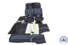 Sitzbezüge für Mercedes W108 W109 W111 W110 W190 Heckflosse schwarz  top  !!