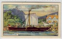 """1812 Paddle Steamer """"Comet"""" Commercial Steamboat Ship Scotland  75+ Y/O Ad Card"""