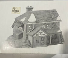 Dept 56 New England Village Bluebird Seed and Bulb Retired Nib #56421