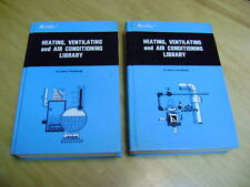 AUDEL HEATING, VENTILATING AND AIR CONDITIONING 1st Ed volumes 1 & 2