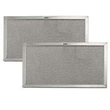 Broan 97007893 99010159 Fits Aluminum Range Hood Aluminum Grease Filter (2 PACK)