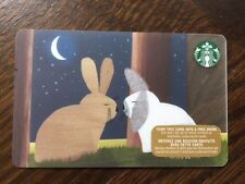 "Canada Series Starbucks ""RABBIT ROMANCE 2015"" Gift Card - New No Value"