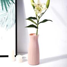Morden Plastic Flower Vase Garden Balcony Desktop Ornament Decor