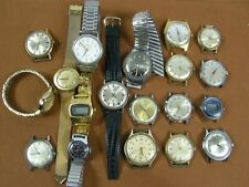 Vintage Timex Men's watch lot Self Winding Electric SSQ 100 400 Automatic