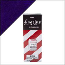 Angelus Brand Purple Suede Dye & Dressing with Applicator in 3 Fl. Oz.
