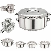 SQ PROFESSIONAL Stainless Steel Jumbo Cooking Hot Pot All size And Set Available