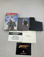 Indiana Jones and the Last Crusade, Complete in Box, Nintendo NES
