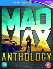 Mad Max Anthology Blu-ray 2015 Region DVD 5051892193962