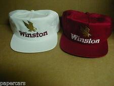 Winston Gold Eagle Nascar Drag Racing Vintage Snapback Hat lot Rare NEW hi-rise