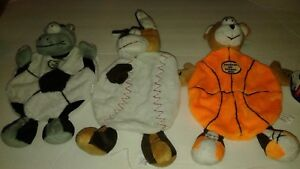 Spot FLATSO Stuffing Free SPORT THEMED dog toy Cute & Unique GREAT for SMALL DOG