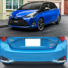 Fit For Toyota  Yaris Vitz 2017 2018 Rear Fog Light Lamp Cover Cap Trim 2 Piece