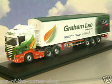 OXFORD SCANIA JOCKEY TRUCK/TRAILER MOLLY MAY EDDIE STOBART GRAHAM LEE 76SHL10WF