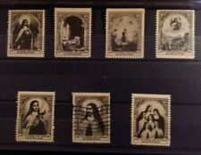 Cinderella Poster Stamp USA Charity Seals Shrine of Missions St. Antonio TX