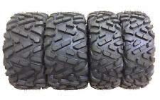 Set of 4 WANDA ATV UTV Tires 27x9-12 Front & 27x11-12 Rear 6PR Big Horn Style