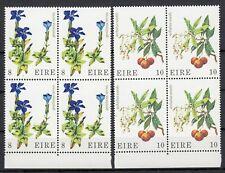 (54142) Ireland MNH Blocks Wild Flowers 1978