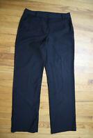 WOMEN'S BLACK DRESS PANTS - TALBOTS - SIZE 10 - HERITAGE
