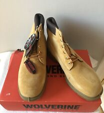 Wolverine Men's Insulated Waterproof Boots Gold(01123) Size 11 *NIB*