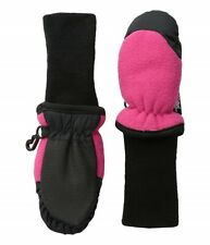 Tundra Boots Kids 166865 Fleece Mittens Cold Weather Gloves Pink Size X-Large