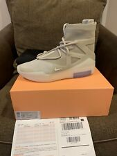 Nike x Air Fear of God 1 Oatmeal Men's SZ 13 With Receipt 100% Authentic
