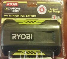 BRAND NEW RYOBI OP4026A LITHIUM-ION 40V BATTERY W/ FUEL GAUGE