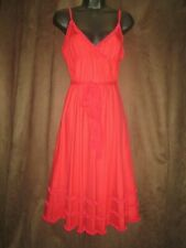 Fornarina Red Summer Party Dress   Size XL  UK 16  Brand new with tags RRP £120