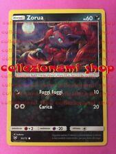 52/73 Zorua - REVERSE HOLO FOIL - LEGGENDE IRIDESCENTI - CARTA IN ITALIANO