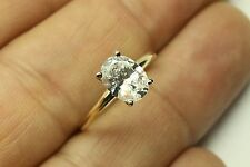 3.00 CT OVAL CUT  ENGAGEMENT RING 14 KARAT YELLOW GOLD
