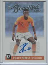 2018-19 Donruss The Beautiful Game Auto Quincy Promes Netherlands