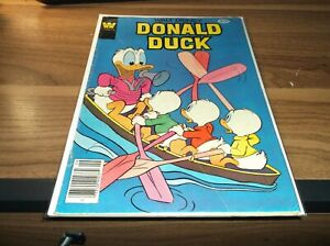 WALT DISNEY DONALD DUCK #211 (1979) CREASE WHITMAN COMICS FREE S/H