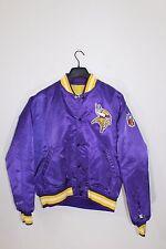 STARTER~Vintage~80s~Authentic PRO LINE~Mens L~MINNESOTA VIKINGS~Jacket~NFL~Satin