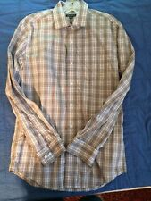 """Dress Shirt by """"George"""", S/CH 34-36, Made of 100% Cotton. Bangladesh. Good Cond."""