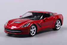 Chevrolet 2014 Corvette Stingray C7 Model Cars 1:24 Collection Alloy Diecast Red
