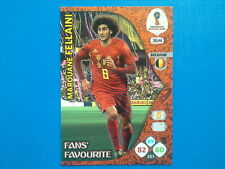 Panini Adrenalyn World Cup Russia 2018 n.364 Marouane Fellaini FANS' FAVOURITE