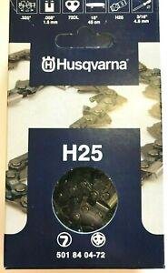 "Husqvarna Chainsaw Chain H25 x 72DL 18"" .325 058 for 545 555 550 560xp 501840472"