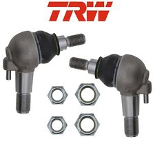 For Mercedes W140 Pair Set of 2 Lower Ball Joints At Steering Knuckle TRW