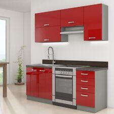 Küchenmöbel Multiline Set II Küchenzeile Küche Komplett Einbauküche Küchenblock