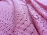 Elastane /& Polyester Embossed Jersey /'Dalton' per metre dress fabric Yellow