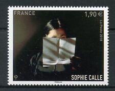 France 2018 MNH Sophie Calle 1v Set Writers Art Photography Stamps