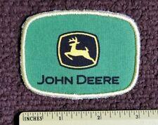 Vintage John Deere JD Tractor FARMING trucker Hat uniform collector PATCH