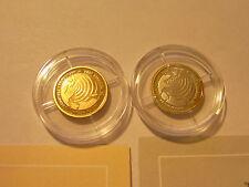 "New listing 2005 Somali 4000 & 1000 Shillings Gold Silver ""Tsunami 2004 Indian Ocean"" Rar"