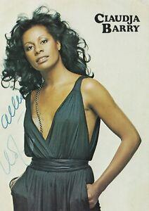 Claudia Barry  / Autogrammkarte