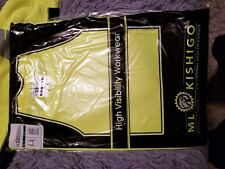 2 ML Kishigo High-Vis Apparel XL short Sleeve brand new in package.